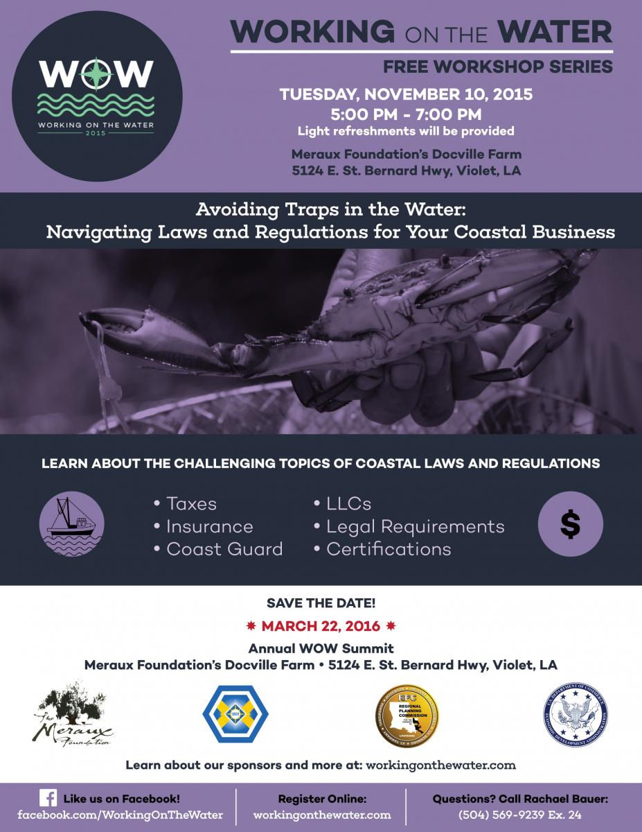 Avoiding Traps in the Water: Navigating Laws and Regulations for Your Coastal Business